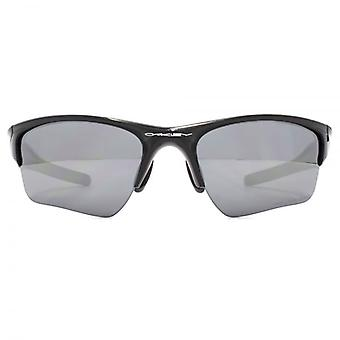 Oakley Half Jacket 2.0 XL Sunglasses In Polished Black Iridium Polarised