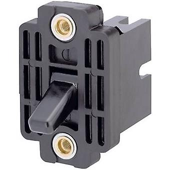 Toggle switch 400 V AC 10 A 3 x Off/On Marquardt 0