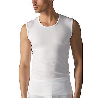 Mey 49001 Men's White Casual Cotton Tank Vest Top