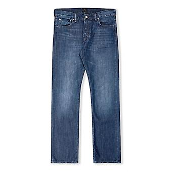 Edwin Jeans ED-71 Slim Straight Jeans (Blue Mid Coal)