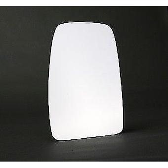 Left Stick-On Mirror Glass For Opel MOVANO Flatbed / Chassis 2003-2010