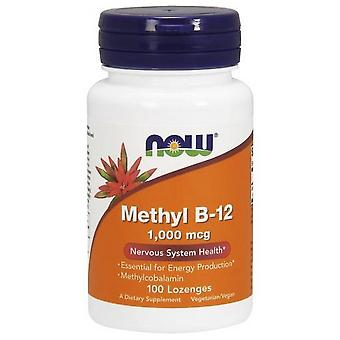 Now Foods Methyl B12 1000 mcg 100 tabs (Vitamine e supplementi , Vitamine)