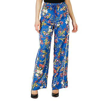 Pinko Women Trousers Blue