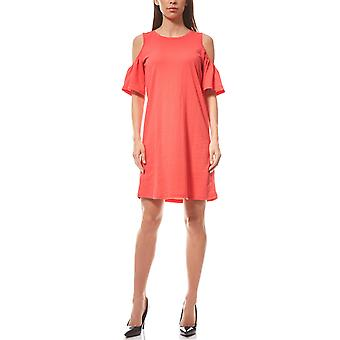 VERO MODA dress cut out Laura red Jersey dress