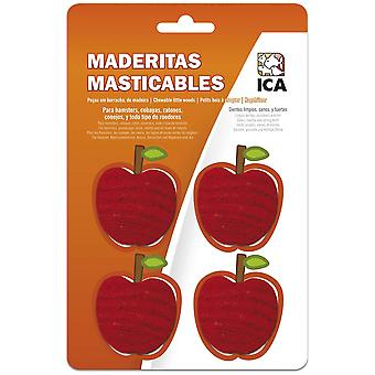 Ica Maderitas Apple for Rodents (Small pets , Treats)