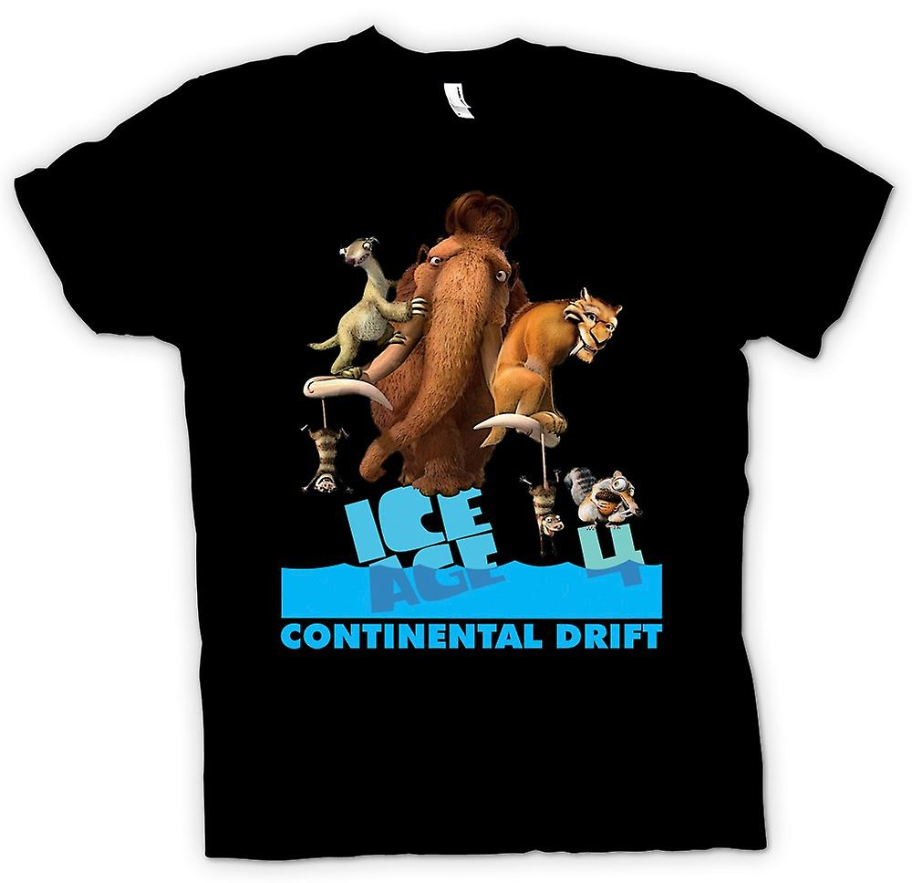 Kids T-shirt - Ice Age - Continental Drift