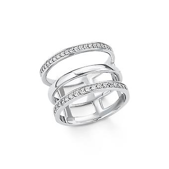 s.Oliver Jewel Damen Ring Silber Zirkonia 201512