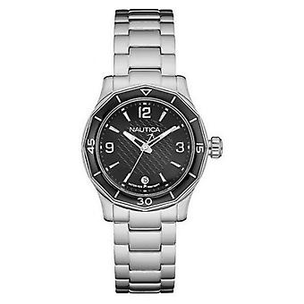 Nautica ladies watch bracelet watch NAD16531L stainless steel