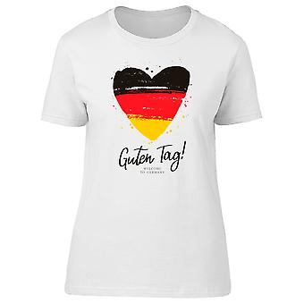 Guten Tag! Welcome To Germany Tee Women's -Image by Shutterstock