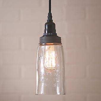 Irvin's Country Tinware Small Mason Jar Pendant
