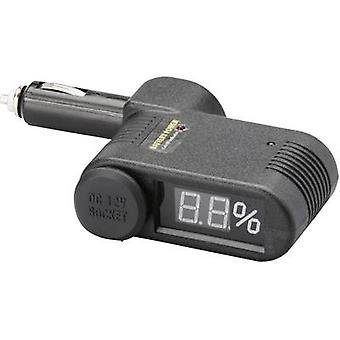 Unitec Battery monitor 2 in 1 with status display