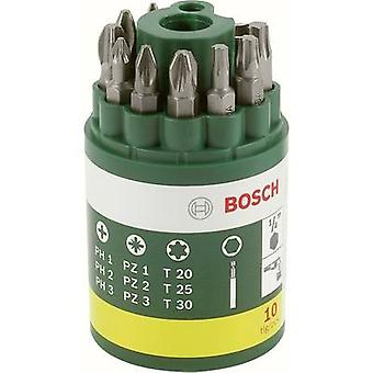 Bit set 10-piece Bosch Accessories Promoline 2607019452 Phillips, Pozidriv, TORX socket