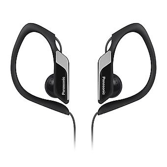 Panasonic RP-HS34E-K Water/Sweat Resistant In Ear Sports Headphone - Black