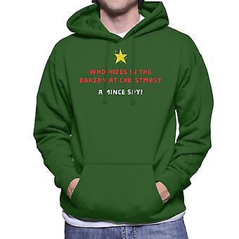 Christmas Cracker Joke Mince Spy Men's Hooded Sweatshirt