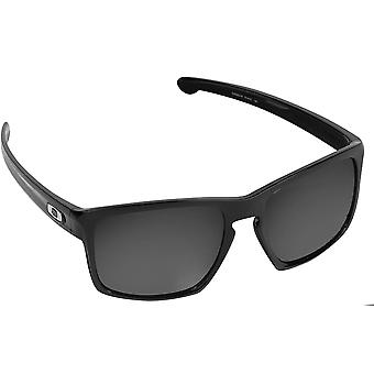 Best SEEK Polarized Replacement Lenses for Oakley SLIVER Asian Fit Silver Mirror