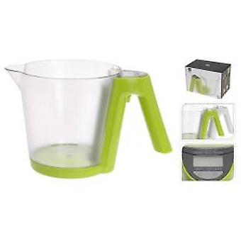 Kitchen scale measuring cup