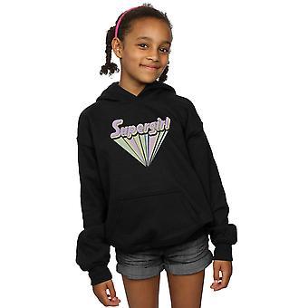 DC Comics Girls Supergirl Pastel Logo Hoodie