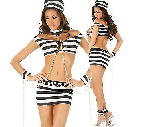Waooh 69 - Dress Sexy Costume Sexy Prisoner Of