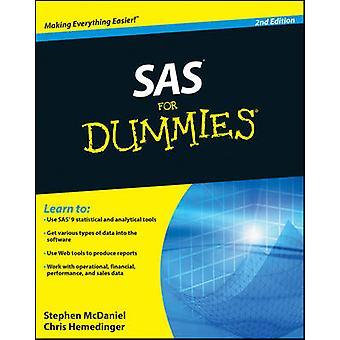 SAS para Dummies (2da edición revisada) por Stephen McDaniel - Chris Hem
