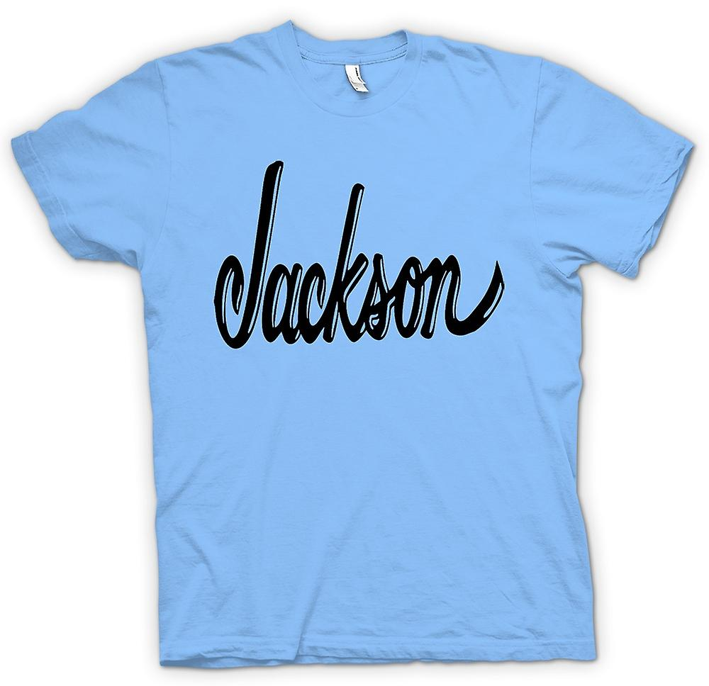 Hommes T-shirt - Jackson - Guitares Rock Blues