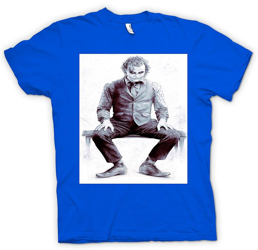 Mens T-shirt - Sitting Joker - Batman