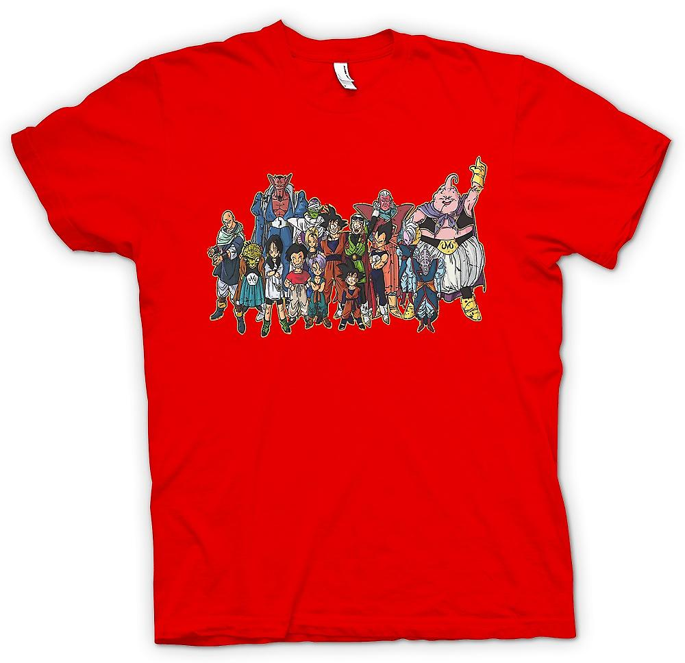 Heren T-shirt - Dragon Ball Z bende - Kids TV
