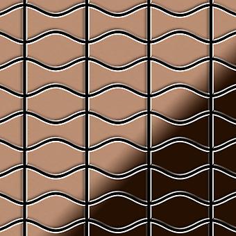Metal mosaic Copper ALLOY Kismet-Karma-CM
