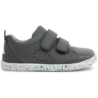 Bobux I-walk Boys Grass Court Shoes Smoke Grey
