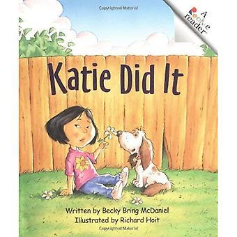 Katie Did It (Rookie Readers: Level B)