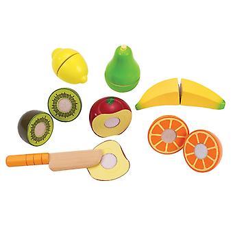 Jeu d'imitation enfant jeux jouets Set de jouets fruits frais 0102083