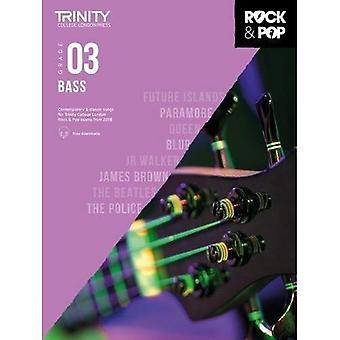 Trinity Rock & Pop 2018 Bass Grade 3 - Trinity Rock & Pop 2018 (Sheet music)