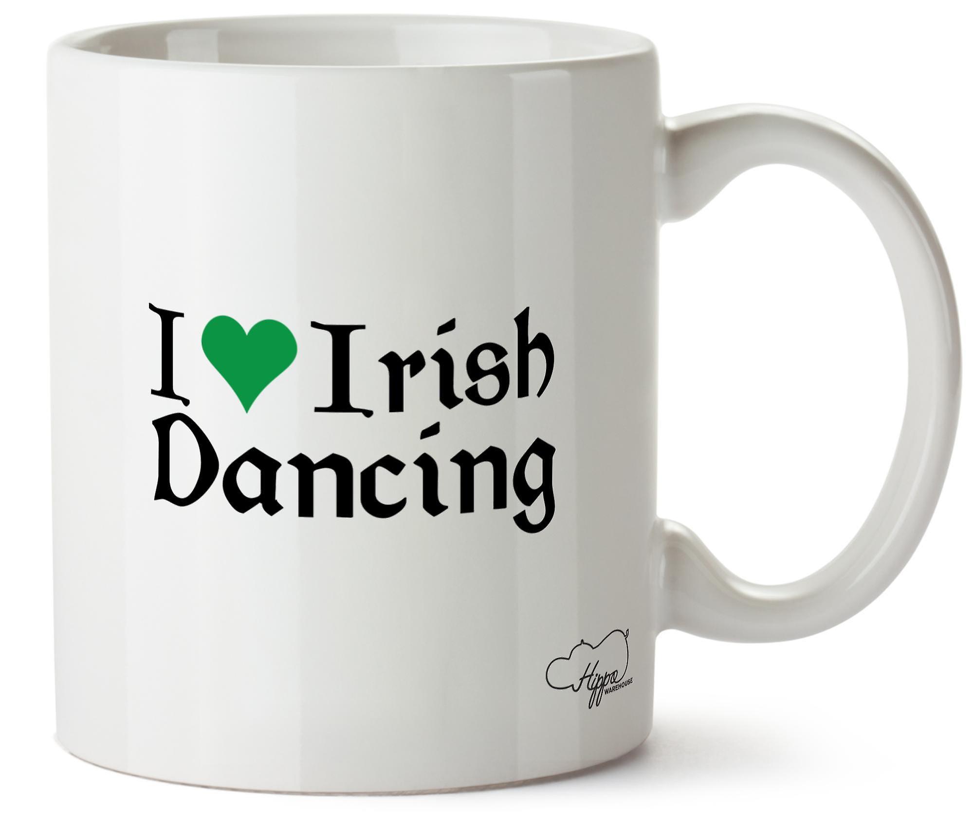 J'adore Oz Cup Danse 10 Hippowarehouse Irlandaise Tasse tChQdsxBr