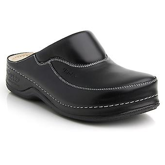 Batz FC04 High Quality Leather Slip-on Womens Ladies Clogs