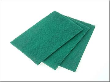 Faithfull Hand Pad Green General Purpose 230 x 150mm (10)