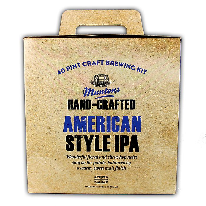 Hand-crafted American IPA