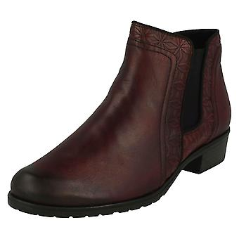 Ladies Remonte Smart Ankle Boots D6873