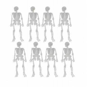 Halloween Horrors Amazing Glow In The Dark Spooky Skeleton Pendants Pack of 72 (WS310147)