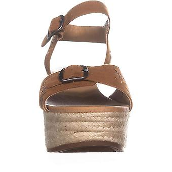 Lucky Brand Womens Naveah2 Fabric Open Toe Casual Espadrille Sandals