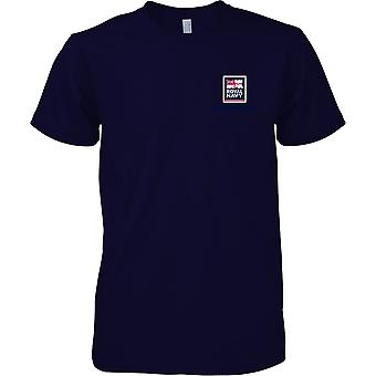 RN snowboard Logo 2 - Royal Navy sport t-shirt colore