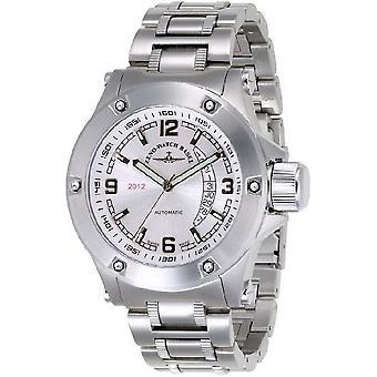 Zeno-watch montre Jumbo 2012 heavy métal gris argent 90878-2824-i2M