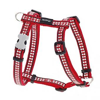 Red Dingo Harness Bone 2,5x53-87 cm (Dogs , Collars, Leads and Harnesses , Harnesses)