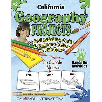 California Geography Projects - 30 Cool Activities - Crafts - Experim