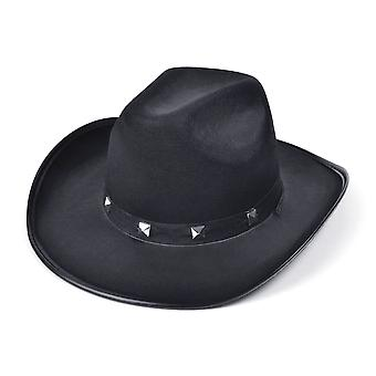 Bristol Novelty Unisex Adults Studded Cowboy Hat