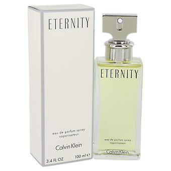 ETERNITY de Calvin Klein Eau De Parfum Spray 3.4 oz/100 ml (mujer)