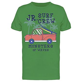 Jr Surf Crew Tee Uomini's -Immagine di Shutterstock