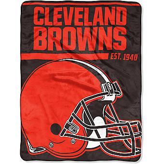 Northwest NFL Cleveland Browns Mikro Plüschdecke 150x115cm