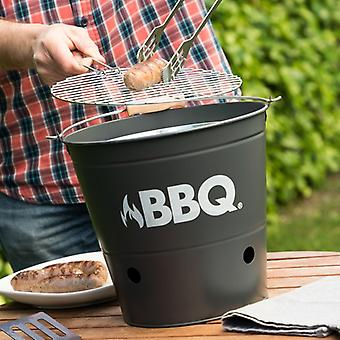 Cube BBQ charcoal barbecue