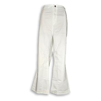 Susan Graver Femmes apos;s Petite Jeans 24WP Stretch Mini Boot Cut White A298506