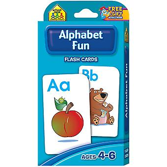Flash Cards Alphabet Fun 52 Pkg Szflc 4064