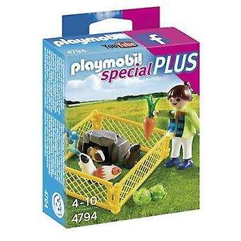 Playmobil 4794 Girl with Cobayas